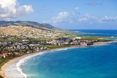 Rücksortierung in Str. Kitts Stockbilder