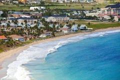 Rücksortierung in Str. Kitts Lizenzfreie Stockbilder