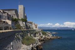 Rücksortierung von Antibes - Süden von Frankreich lizenzfreies stockbild