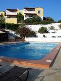 Rücksortierunghotel in Kreta Lizenzfreie Stockbilder