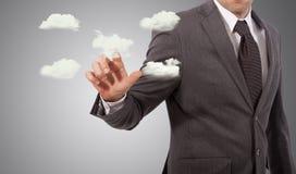 Wolkenserverkonzept Stockfoto