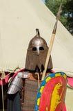 Rüstung des alten russischen Kriegers Lizenzfreies Stockbild
