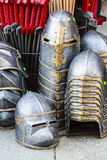 Rüstung des mittelalterlichen Ritters Lizenzfreies Stockbild