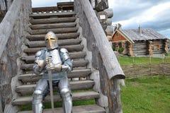 Rüstung des Ritters lizenzfreies stockfoto