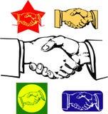 Rütteln der Hände Lizenzfreie Stockfotos