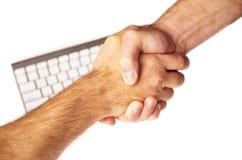 Rütteln Sie Hände Lizenzfreie Stockbilder