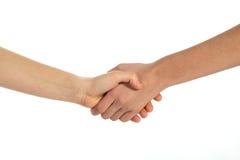 Rütteln Sie Hände Lizenzfreies Stockfoto