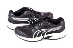 Rüttelnde Schuhe Stockbild