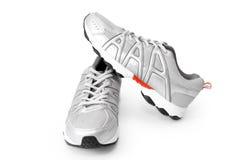 Rüttelnde Schuhe Stockfotos
