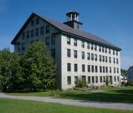 Rüttler-Dorf-großes Steinwohnung-Haus Stockfotografie