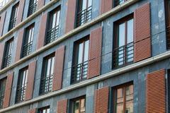 Rüttler von den Fenstern Stockbilder