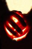 ręce świecić Zdjęcia Royalty Free