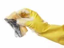 ręce 08 guma rękawiczkowa Zdjęcia Stock