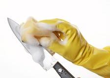 ręce 21 guma rękawiczkowa Zdjęcie Royalty Free