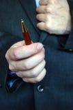 ręce długopis Obrazy Royalty Free