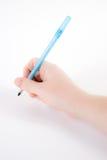 ręce długopis gospodarstwa Obrazy Royalty Free