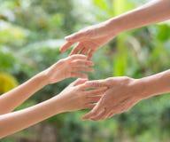 ręce mi Fotografia Stock