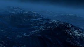 ręce na plażę dezerterujący wyspy matki syn morskiego określa burzę 3 d czynią Obrazy Stock