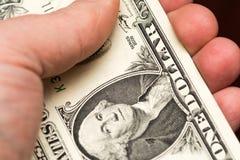 ręce zazielenień pieniądze wypłaty sukces Obraz Royalty Free