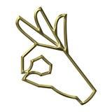 - ręce znak royalty ilustracja