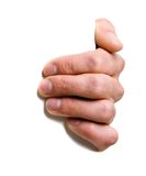 ręce znak gospodarstwa zdjęcie royalty free