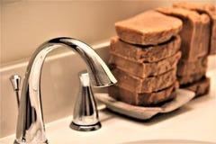 ręcznie mydła fotografia stock