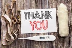 Ręcznie pisany teksta seans Dziękuje Ciebie Biznesowy sprawności fizycznych zdrowie pojęcia writing dla wdzięczność dzięki pisać  zdjęcia royalty free