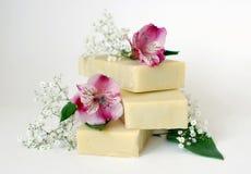 ręcznie robiony mydło Fotografia Stock