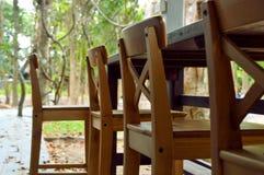Ręcznie robiony prętowej stolec krzesło zdjęcia stock