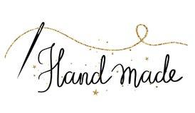 Ręcznie robiony - wakacyjna ręka rysujący literowanie ilustracji