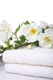 ręczników kąpielowych zdjęcie stock