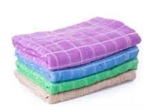 Ręcznik. ręcznik na tle Zdjęcie Stock