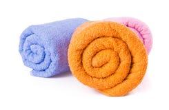 Ręcznik. ręcznik na tle Obraz Stock