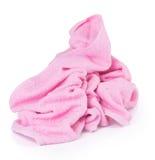 Ręcznik. ręcznik na tle Zdjęcia Royalty Free