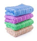 Ręcznik. ręcznik na tle Fotografia Stock