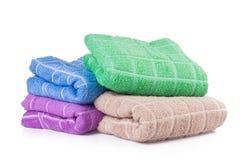 Ręcznik. ręcznik na tle Zdjęcia Stock