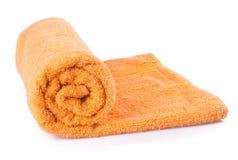 ręcznik ręcznik na tle Obraz Stock