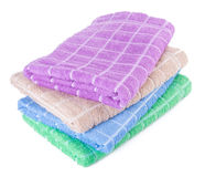 ręcznik ręcznik na tle Zdjęcie Stock