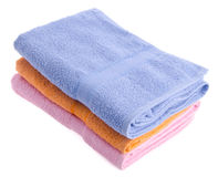 Ręcznik, ręcznik na tle Fotografia Stock