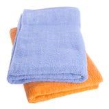 Ręcznik, ręcznik na tle Zdjęcie Stock