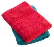 ręcznik ręcznik na tle Zdjęcia Royalty Free