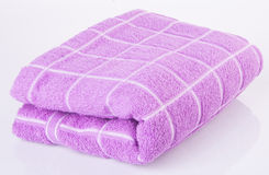 ręcznik ręcznik na tle Fotografia Stock