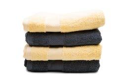 ręcznik ustawiający odizolowywającym Zdjęcie Stock