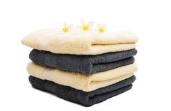 ręcznik ustawiający odizolowywającym Fotografia Royalty Free