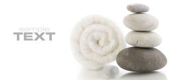 ręcznika kamienny wierza Fotografia Royalty Free