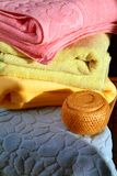 ręczniki w łazience Obrazy Royalty Free