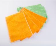 ręcznikowy lub kuchenny ręcznik na tle royalty ilustracja