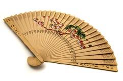 ręczny chiński fan Zdjęcia Royalty Free