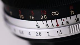 Ręczny obiektyw Zdjęcia Stock