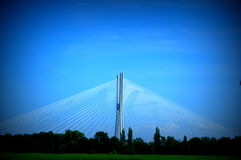 Rędziński Bridge Royalty Free Stock Images